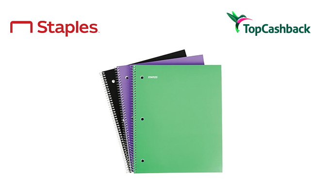 TopCashback - 3 Pack of Notebooks Freebie (Incent)(US,CA)