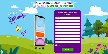 Just Prizes - iPhone 11 Spring (US)