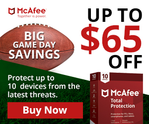 McAfee Anti Virus Security (Incent)(US)