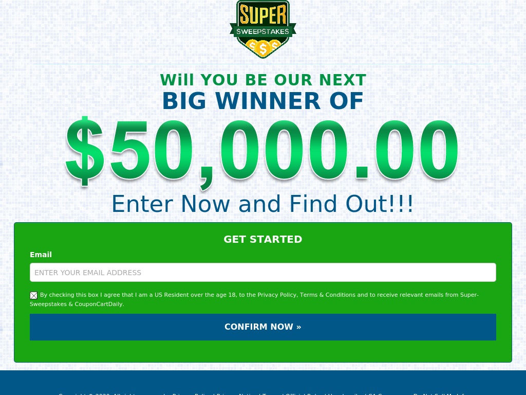 Super Sweepstakes (Incent)(US)